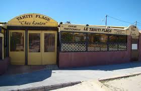 Restaurant Tahiti Plage Chez Loulou